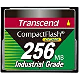 TRANSCEND 256MB Compact Flash CF Card Industial Grade