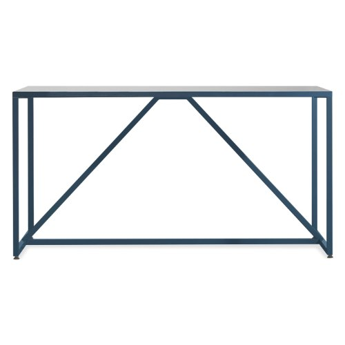 Blu Dot Strut Medium Table, Navy