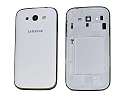 Full Housing Body Panel Faceplate For Samsung Galaxy Grand 9082 White FREE SIM ADAPTER