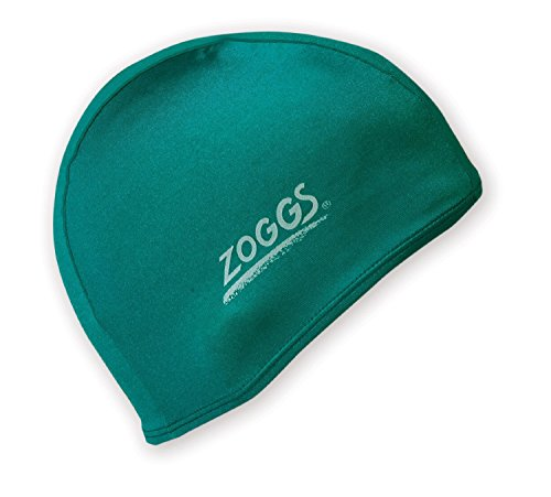 Zoggs Deluxe Stretch Spandex Badekappe - (Farbe: Grün) [Misc.]