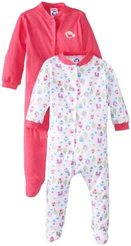 凑单品:Gerber 嘉宝  House Sleep N Play Bodysuit 女宝宝连体衣 2件套 $5.75