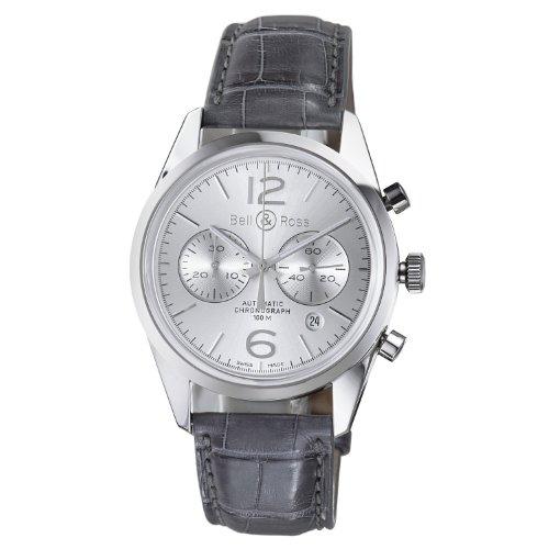 Bell & Ross BRG126-WH-ST/SCR - Reloj