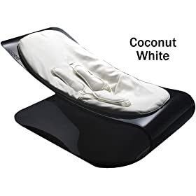 Bloom Coco Bouncer Plexistyle Black Frame - Coconut White