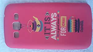 Generic Rubberised Hard Case Back Cover for SAMSUNG GALAXY GRAND 2 G7102 - PINK