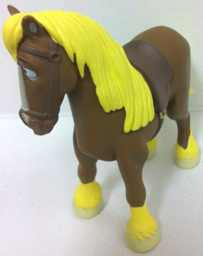 "Disney Beauty And The Beast, 3"" Philippe The Horse Figure Doll Toy, Cake Topper, Style May Differ"