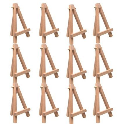 Art Alternatives Itty Easel - 5 Inch - Pack of 12 Easels