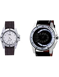 WATCH ME COMBO GIFT SET OF WATCHES FOR MEN AND COUPLES WM-036 AWM-068-B