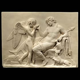 Home Decor Online on Statues   Sculptures Online Large Wall Art Plaque   Greek God   Angel