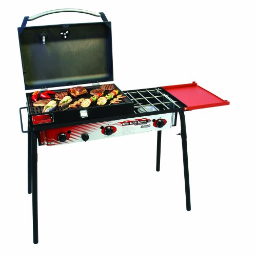 Big Gas 3 Burner Grill Black/Red