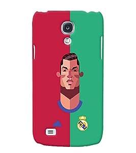 PRINTVISA Football Champion Madrid Case Cover for Samsung Galaxy S4