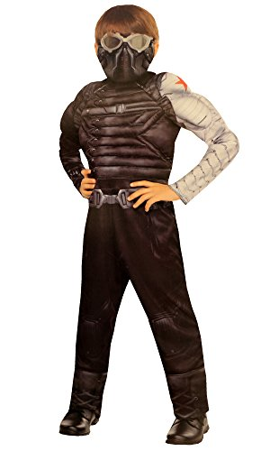 Captain America the Winter Soldier Muscle Child Costume Medium 8-10