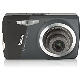 Kodak EasyShare M530 12MP Digital Camera with 3x Wide Angle Optical Zoom and 2.7 Inch LCD (Carbon)