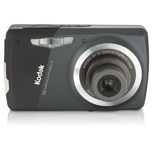 Kodak EasyShare M530 12 MP Digital Camera with 3x Wide Angle Optical Zoom and 2.7 Inch LCD (Carbon)