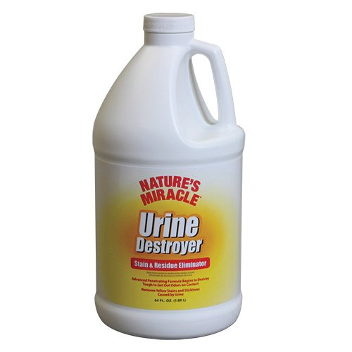 Nature's Miracle Urine Destroyer Stain and Residue Eliminator 64oz (.5 Gallon)