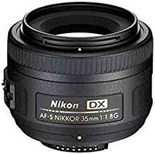 Comprar Nikon AF-S DX 35mm 1.8 G - Objetivo para Montura  (distancia focal fija 52.5mm, apertura f/1.8) color negro [Importado]