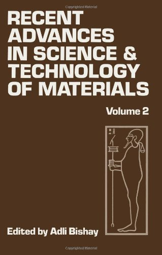 Recent Advances In Science And Technology Of Materials: Volume 2