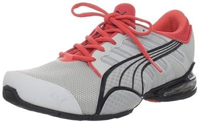 PUMA Women's Voltaic 3 Nm Running Shoe,Grey Violet/Hot Coral/PUMA Silver,7 B US