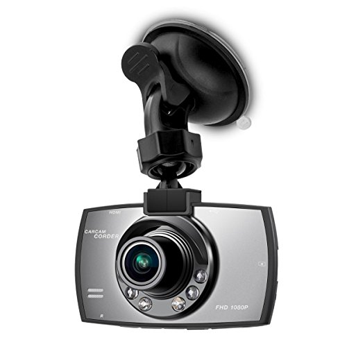 kwmobile camera auto Full HD Dash Cam Blackbox 1080p KFZ videocamera con sensore di movimento
