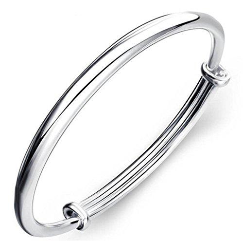 New 925 Sterling Silver Heart Love Bracelet Silver Chain