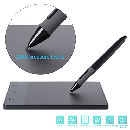 "Huion H420 4""x2.23"" Tavoletta grafica con cordless USB Art Graphics Drawing Tablet +Cordless Digital Pen Per Anime Disegno Disegno Art Design BI001"