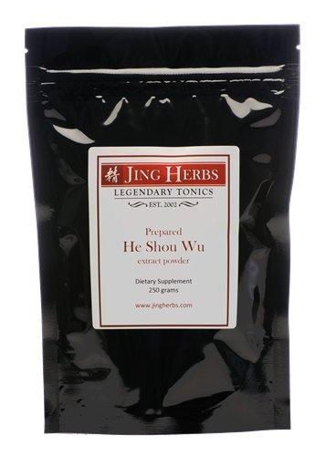 Jing Herbs He Shou Wu Extract Bulk Powder 250 Grams