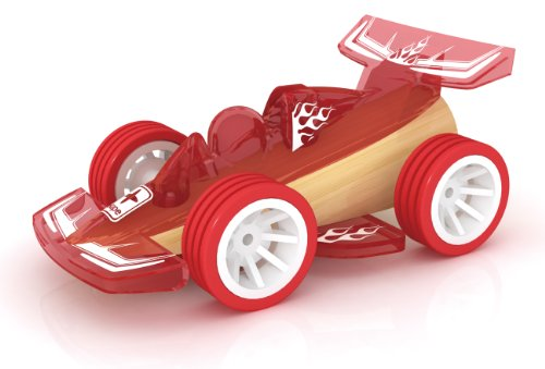Hape Bamboo Mighty Mini Racer Toy Car