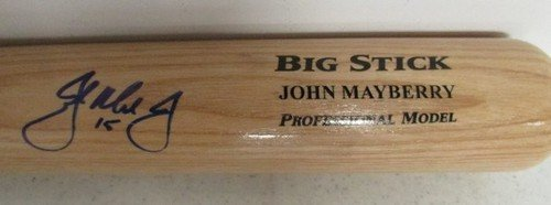 John Mayberry Jr. Phillies Autographed/Signed Baseball Bat JSA W316469 at Amazon.com