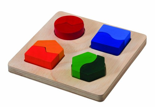Plan Toys Preschool Series Shape Matching Board