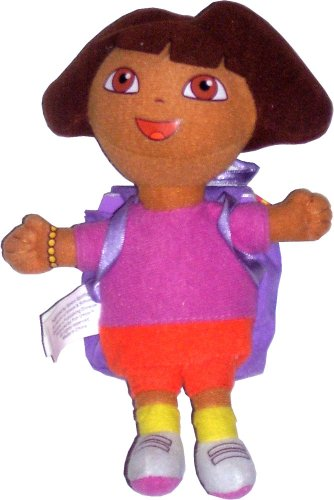 Dora with Book: What's In Dora's Backpack?