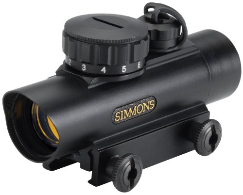 Learn More About Simmons RedDot 1x 20mm 5-MOA Dot, Red Illuminated Scope