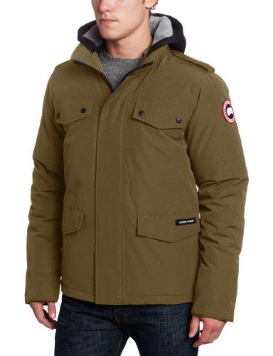 Canada Goose Men's Burnett Parka (Military Green, Large) (Burnett Canada Goose compare prices)