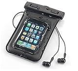 Acase シースルー 防水ケース iPhone iPod iPhone4 IS03 Xperia Galaxy REGZA phone 用 (ストラップ・イヤホン・アームサスペンダー付)