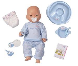 Zapf Creation Baby Born Magic Eyes Boy Doll White Amazon