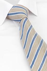 Pure Silk Striped Tie [T12-3851-S]