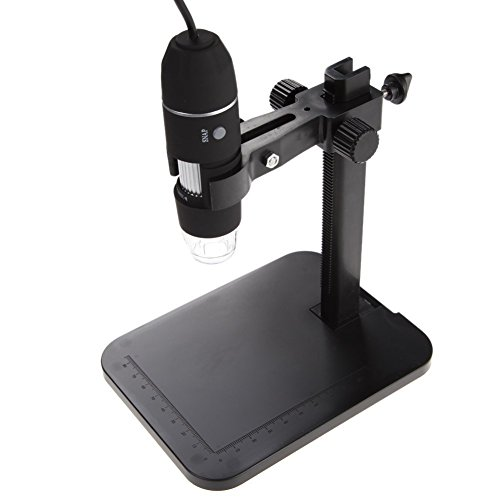 econoLED-8-LED-2MP-USB-Digital-Microscope-Endoscope-Magnifier-CameraLift-Stand-US-best-seller