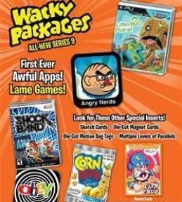 2012 Topps Wacky Packages Packs Series 9 Sticker Cards Retail Box - 24 packs / 7 cards