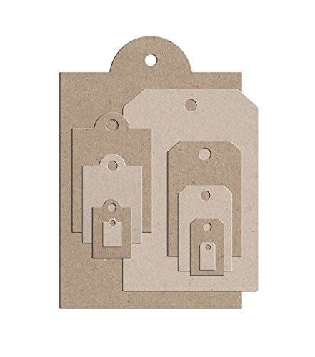 Little B 100386 10-Piece Tag Cutting Die Templates (Little B Magnetic Storage Binder compare prices)