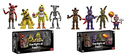 """Funko Five Nights at Freddy's 4 Collectible Figure Pack 2"""" Set #1 and Set #2"""
