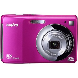 Sanyo 14MP Digital Camera w/ 5x Optical Zoom, 3.0