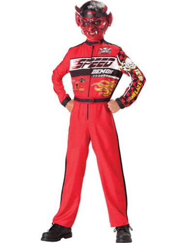 Kids-Costume Speed Demon Child Sz 8 Halloween Costume - Child 8