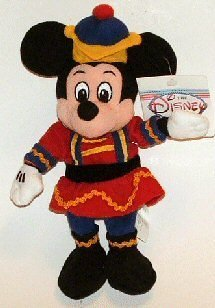 Disney Nutcracker Mickey Mouse Bean Bag - 1