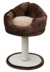 "PetPal Cat Stool With Sisal Post, 16""x16""x30"""