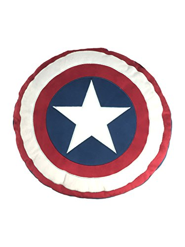 Marvel Captain America 'Civil War' Shield Decorative Pillow (Captain America Trash Can compare prices)