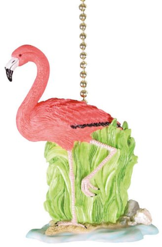 Tropical flamingo ceiling fan pull chain decor paul p whitteneye tropical flamingo ceiling fan pull chain decor mozeypictures Image collections