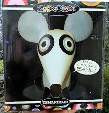 Zookidooki Temakikaki Mouse Ceramic Bank - 1