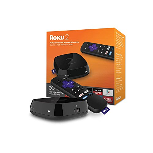 Roku 2 Streaming Media Player (4210R) with Faster Processor (2015 model)