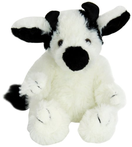 "Purr-Fection Tender Friend Cow Sitting 6"" Plush"