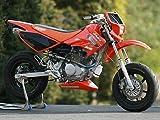 ストライカー(STRIKER) POWER MINI スーパーレーシング TypeA センター/UP1本出し レーシング チタンエキゾースト/チタンサイレンサー XR100 MOTARD 575A-RR