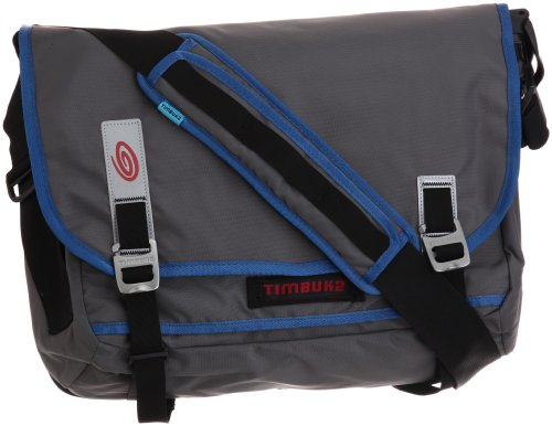 TIMBUK2 Command Bag - M, Grey (Gunmetal/Blue/Black)