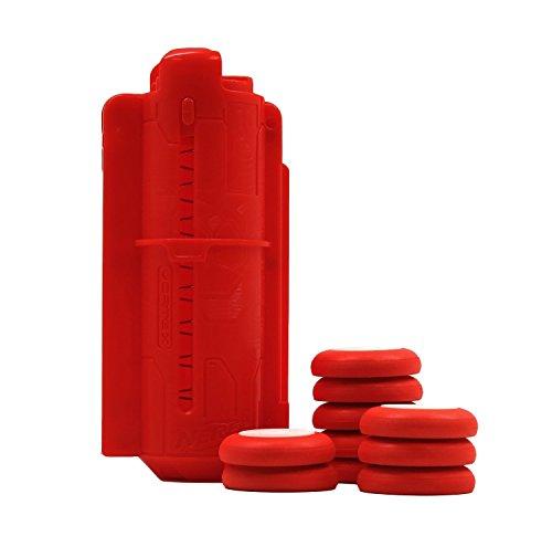 Nerf Vortex Tech Kit with 10 Orange Flying Disks